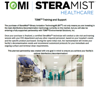 TOMI Training and Support